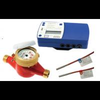 Contor energie termica HYDROSPLIT cu traductor mecanic GMDX-R DN 50, Q3= 25 mc/h, Tmax. 90 grd. C, MID, racord filetat 2
