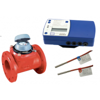 Contor energie termica HYDROSPLIT cu traductor mecanic WDEK30-R DN 65, Qn 25 mc/h, racord cu flanse
