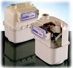 Contor gaz cu membrana deformabila tip RS 2001 G4 , Qmax 6 mc/h, Pmax. 0,5 bar
