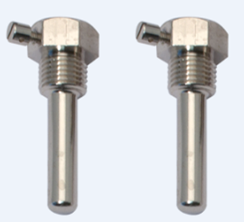 Pereche teci alama pentru termorezistente, Lungime imersie 35 mm