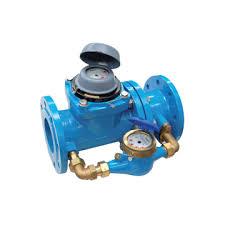 Contor apa rece combinat tip WCM (MWN/JS) DN 100/20, Qn 60mc/h/Qn = 2,5 mc/h, clasa B/C + supapa de comutare, A.M. CEE